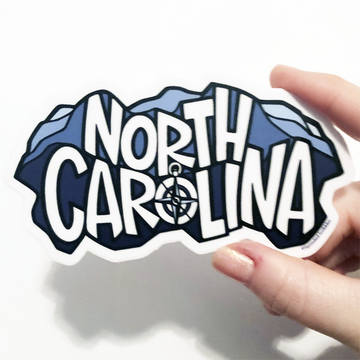 North Carolina Blue Ridge Mountains Sticker