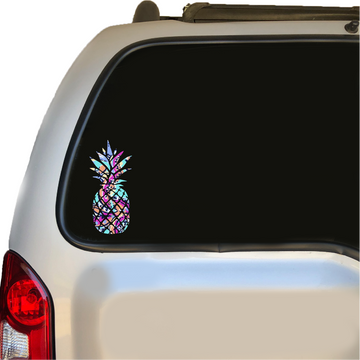Lily Inspired Print Pineapple Decal 5