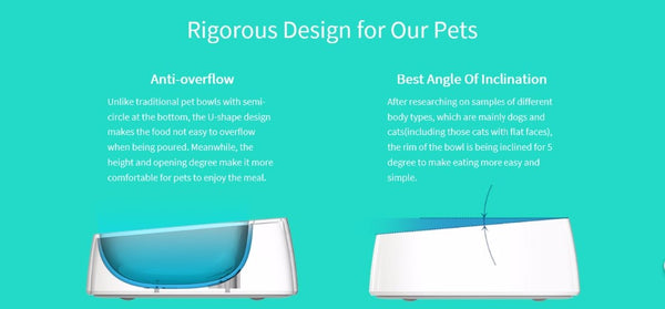 FDA Certified Smart Antibacterial Pet Bowl