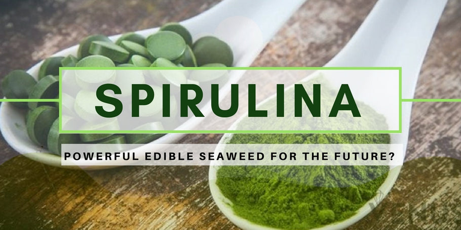 Spirulina, powerful edible seaweed for the future?