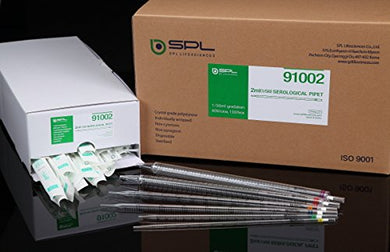 SPL Serological Pipette 2ml, green plug, Sterile to SAL10-6, Individual packing 4 package of 150 Case of 600 - BiochromCorp