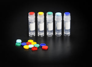 SPL Cryovial Vialcap Insert, PP, 5 colors, 100 per color per bag Case of 500 - BiochromCorp