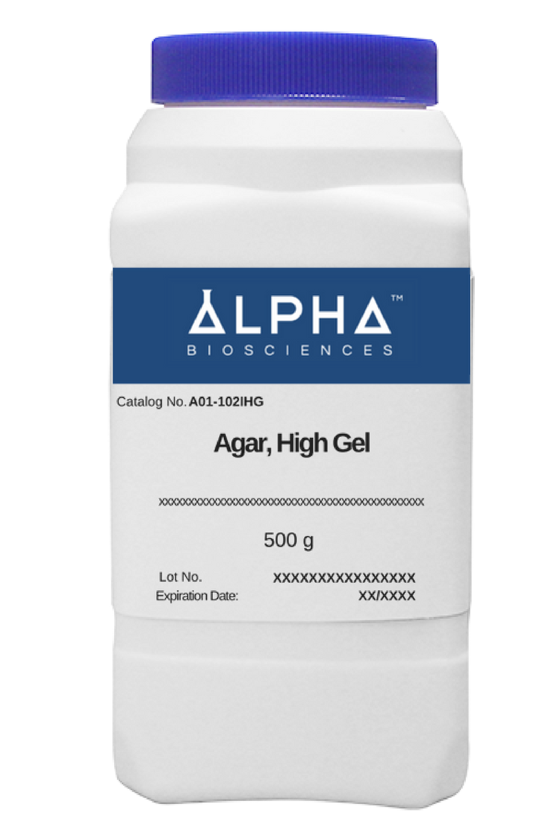 AGAR, High Gel (A01-102IHG) - BiochromCorp