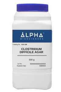 CLOSTRIDIUM DIFFICILE AGAR (C03-109)