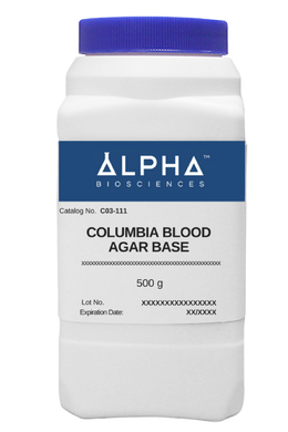 COLUMBIA BLOOD AGAR BASE (C03-111) - BiochromCorp