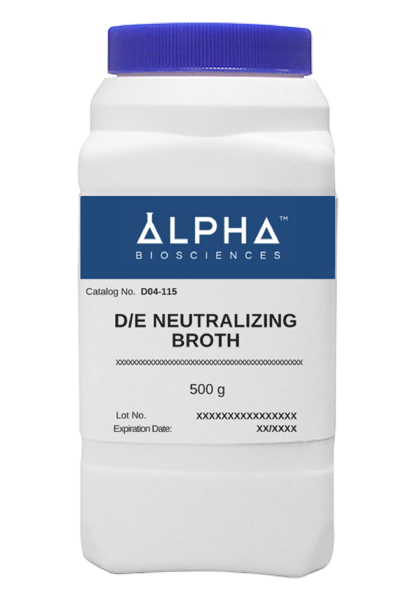 D/E Neutralizing Broth (D04-115) - BiochromCorp
