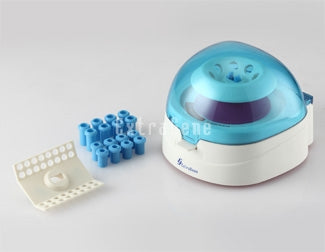 Extragene Mini Centrifuge with rotors for 8 x 1.5/ 2.0 ml tubes and 4 x 0.2ml PCR strips - BiochromCorp