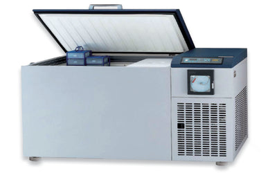 ilShin Ultra Low Freezer ULT l -86 °C, Chest Mode 593 Liters/ 20 CuFt, Cascade (2 x 1 Hp) 220Volt/60 Hz