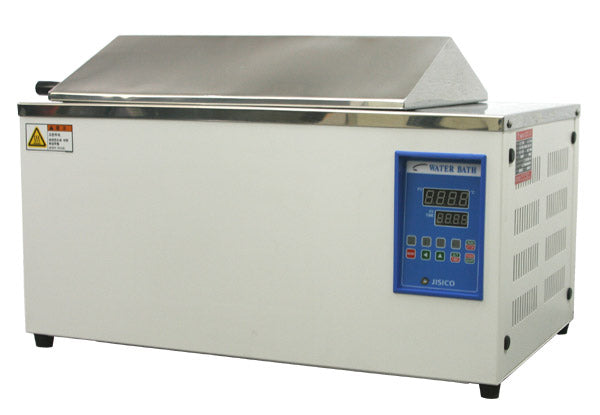 JISICO Water Bath (included PID controller). Temp: Ambient+5℃ ~ 100℃ Capacity 13 lts (3.5 Gallon)  (110Volt 60Hz) - BiochromCorp