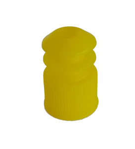Test tube cap, diameter 10.6 mm, yellow bag of 500 - BiochromCorp