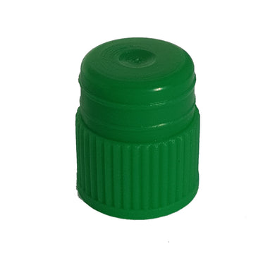 Test tube cap, diameter 13 mm, green Bag of 500 - BiochromCorp