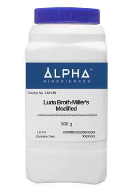 LURIA BROTH - MILLER'S MODIFIED (L12-116) - BiochromCorp