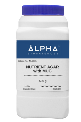 NUTRIENT AGAR with MUG (N14-101) - BiochromCorp