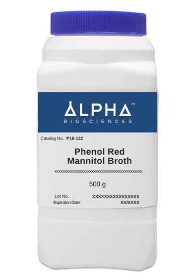 Phenol Red Mannitol Broth (P16-122) - BiochromCorp