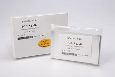 ExtraGene PCR-AS320 Aluminiun Sealing Film for PCR 96 well Plate (Bag of 50) - BiochromCorp