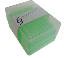 Extragene Universal 200ul Pipette Tips, Racked, DNase / RNase & Pyrogen Safe, Clear 96 tips/rack, Pk x 10 racks - BiochromCorp
