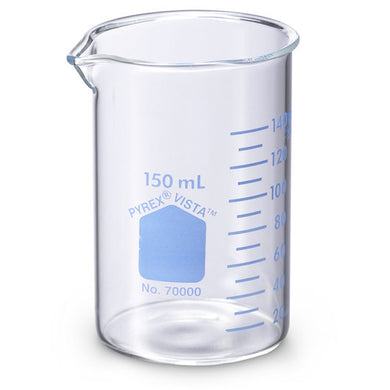 Pyrex Vista 70000-150 Griffin Style Beakers, 150 mL EA 1