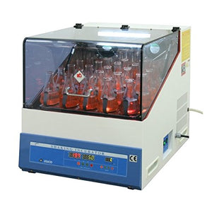 JISICO Shaking Incubator (Cooling 15.0℃ ~ 60.0℃) Rotation type Speed 35 ~ 350 rpm. Chamber size: 500x500x300mm - BiochromCorp