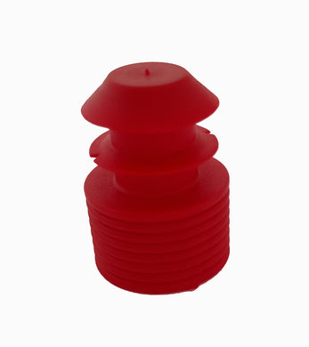 Test tube cap, diameter 14mm, red Bag of 500 - BiochromCorp