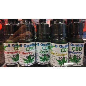 CBD E-Liquid With Terpenes (Silver Leaf)-Lab Quality CBD