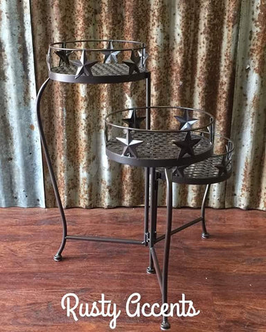 3 Tier Texas Star Plant Stand