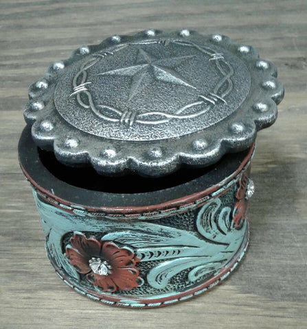 Star & Barbwire Trinket Box