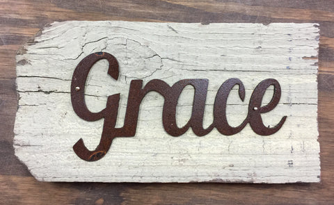 Mini Grace Sign