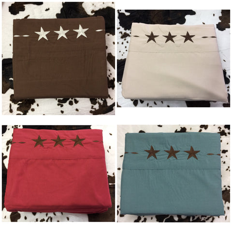 Twin Size Star Sheet Set