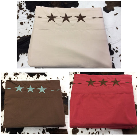 California King Texas Star sheets