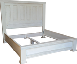 Basic platform panel bed with trim