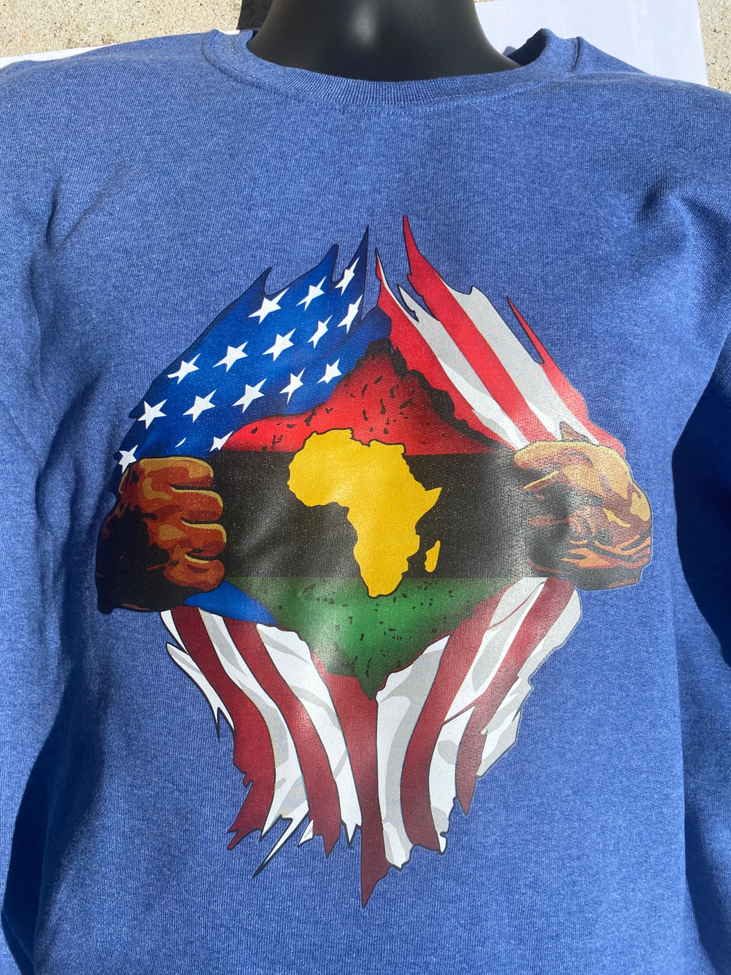 American by the way of Africa