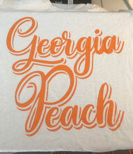 Georgia Peach T-shrit