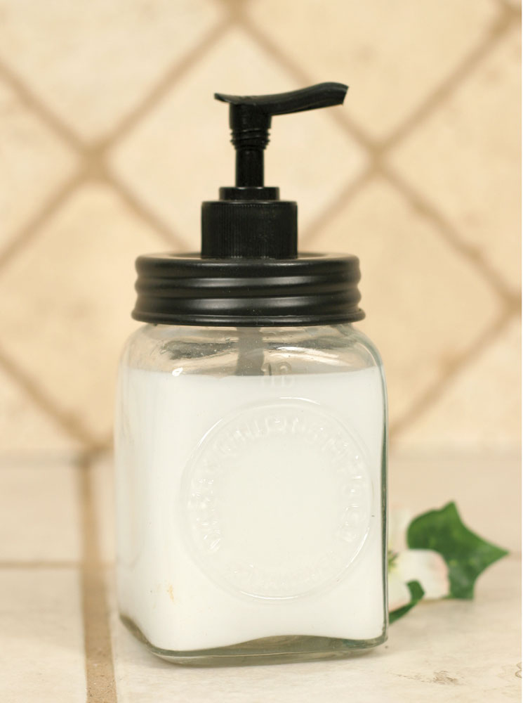 Charming Mini Farmhouse Soap Dispenser
