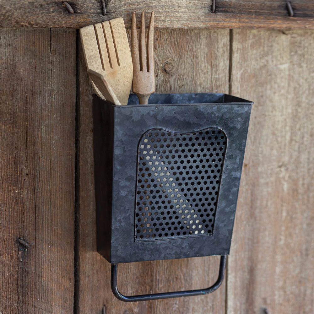 Farmhouse Black Kitchen Wall Box