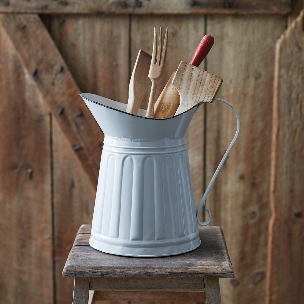 Ivory Farmhouse Pitcher