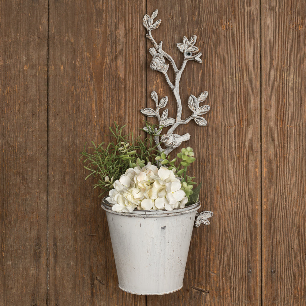 Rose Vines Wall Planter - Set of 2