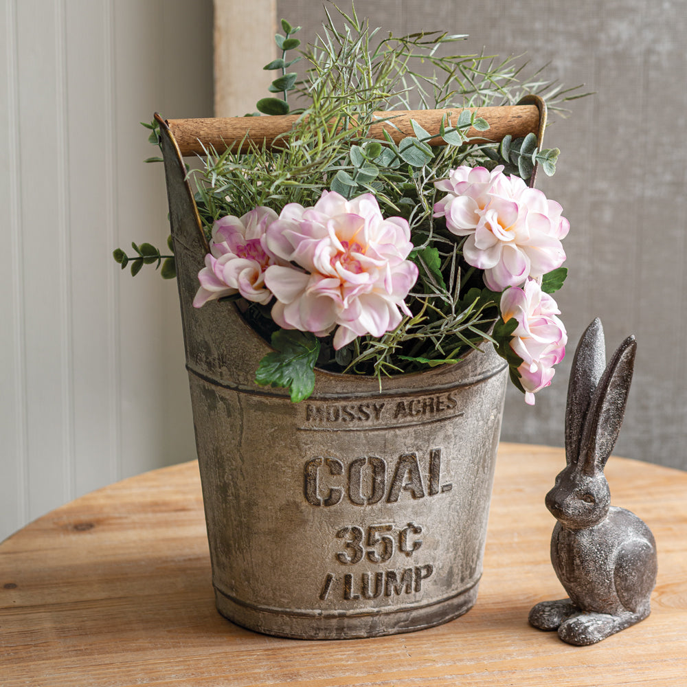 Reclaimed Coal Bucket