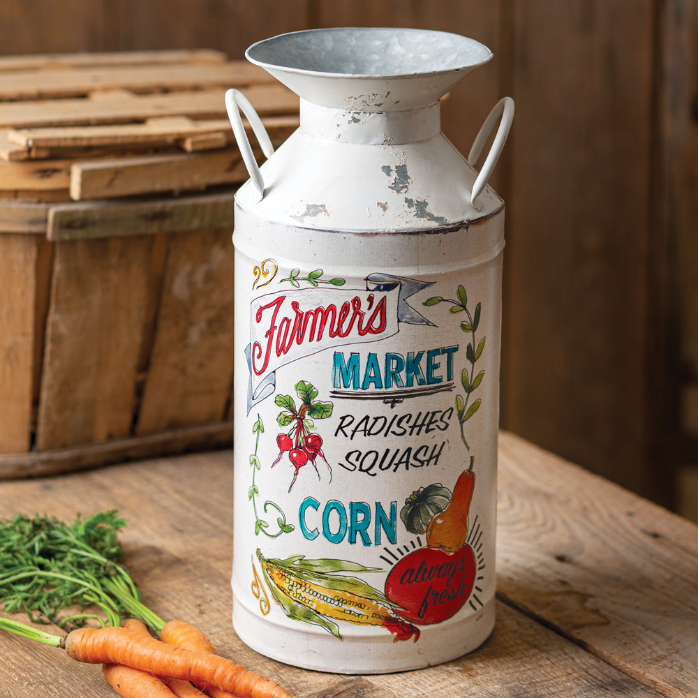 Always Fresh Farmhouse Milk Can