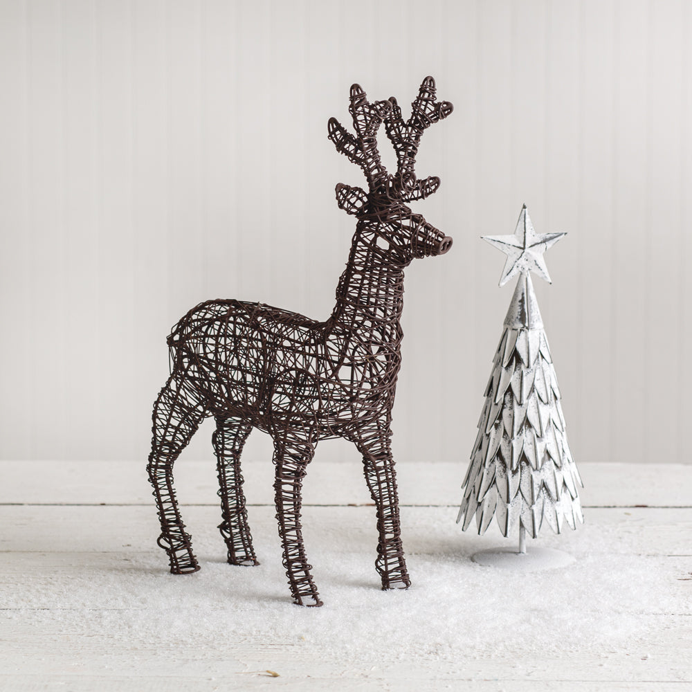 Charming Twisted Wire Deer