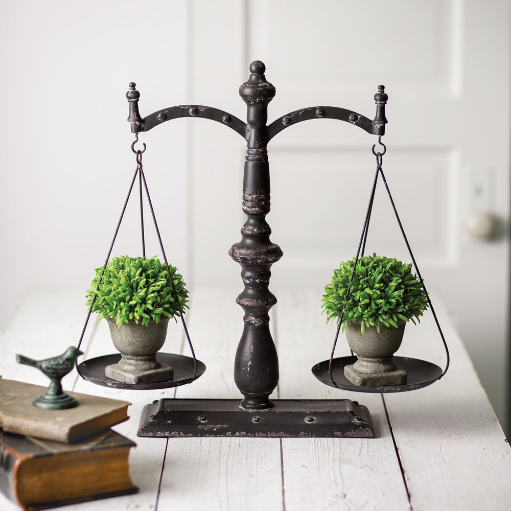 Antique Inspired Balance Scale