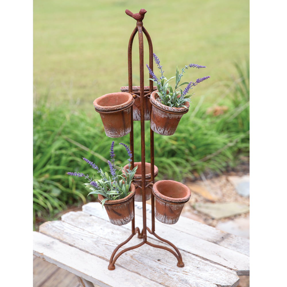 Herb and Flower Pot Caddy