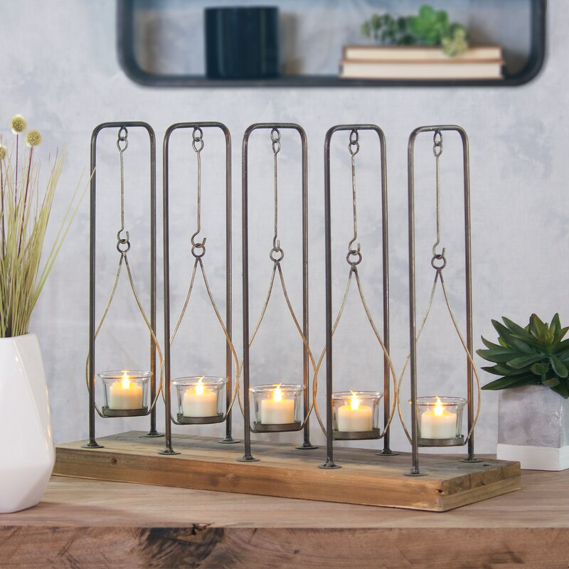 Farmhouse Hanging Votive Candle Holder