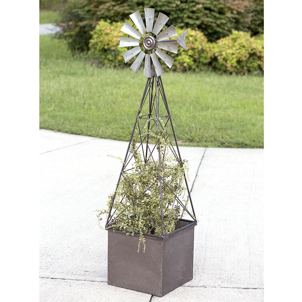 Maclean Windmill Planter