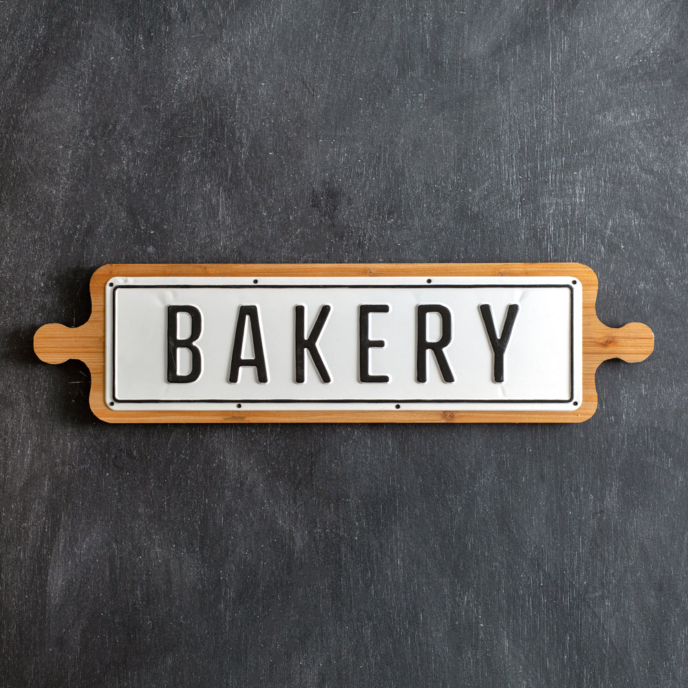 "Rolling Pin ""Bakery"" Wall Decor"