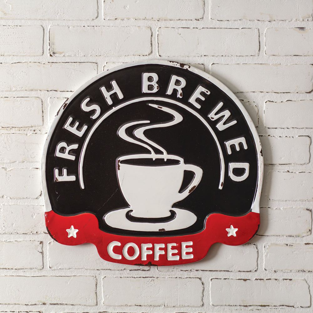 Fresh Coffee Wall Sign
