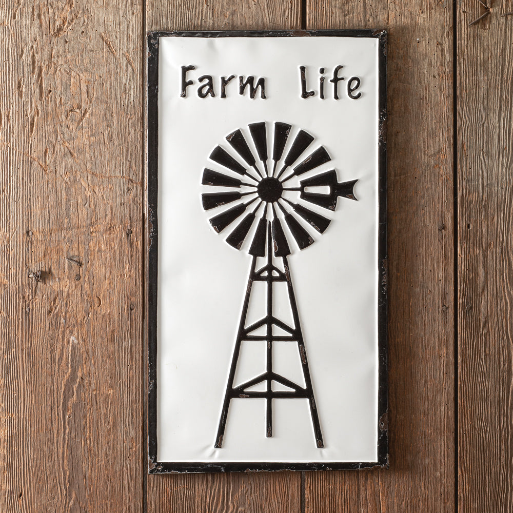 Farm Life Wall Sign