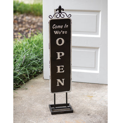 Varius Open/Closed Standing Sign