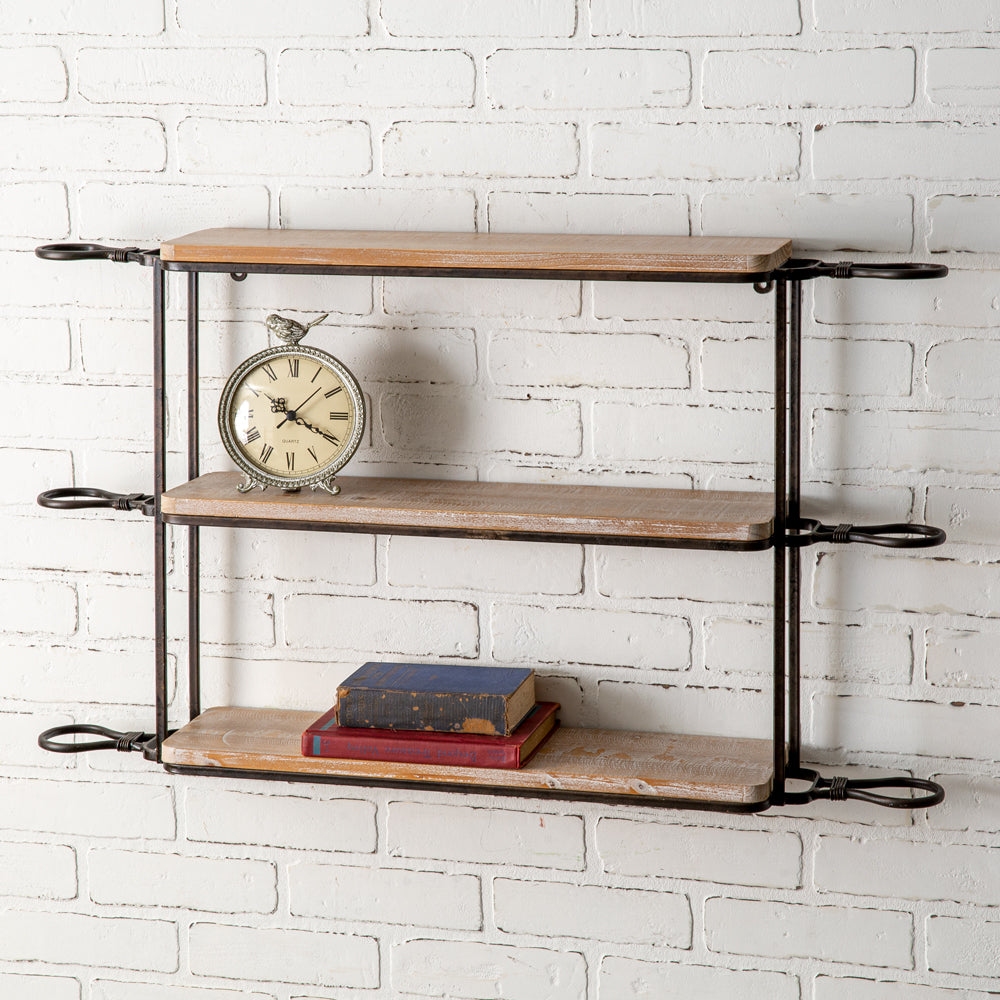 Loic Hanging Wall Shelf