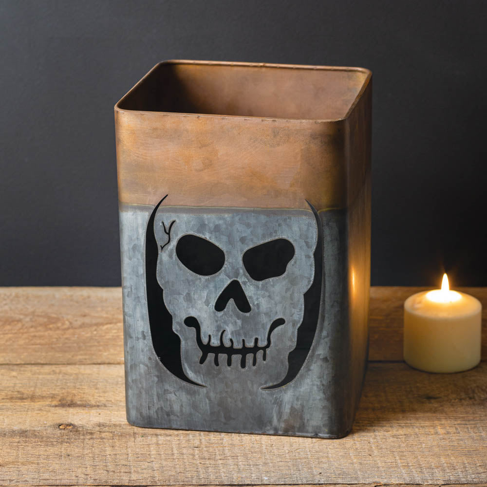 Two-toned Skeleton Luminary