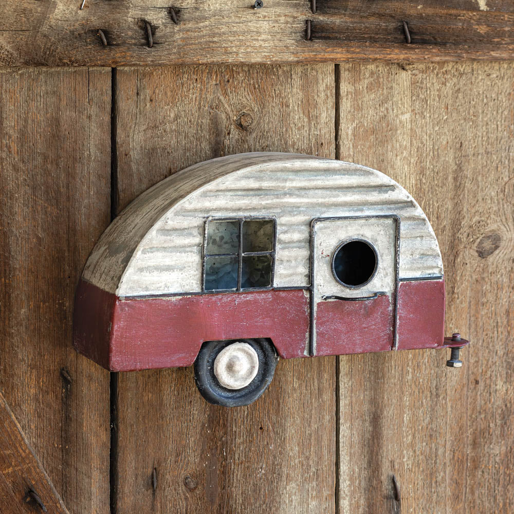 Sweet Home Camper Birdhouse